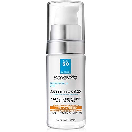 La Roche-Posay Anthelios AOX Daily Antioxidant Serum with Sunscreen, 1 Fl Oz