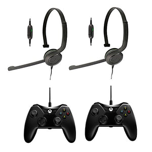 2 Pack Chat Headset/Wired Controller - Xbox One