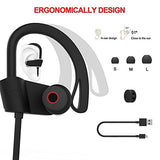 Bluetooth Headphones, Wireless Headphones, In-Ear Bluetooth Earbuds, Built-in