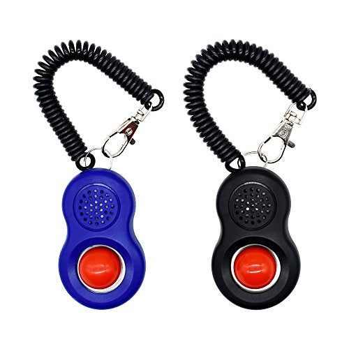 Dog Training Clicker with Wrist Strap - [2018 NEW UPGRADE version] Pet Training