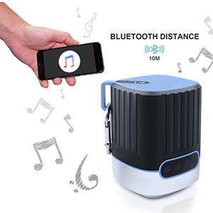 Bluetooth Speakers- Portable 3 in 1 Multiple-Function Wireless Stereo Speaker HD