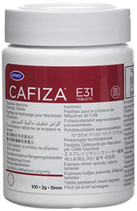 Urnex Cafiza Espresso Machine Cleaning Tablets, 100 Tablets