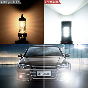 9145/9140/H10/9045/9040 LED Fog Lights Bulbs or DRL, DOT Approved, SEALIGHT 27 2