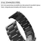 For Gear Sport / Gear S2 Classic Watch Band 20mm, Fintie Stainless Steel Metal /