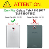 Fintie Samsung Galaxy Tab A 8.0 2017 Case For Model T380 / T385, Rugged Unibody