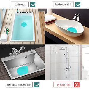 Wimaha Bathtub Drain Tub Stopper Silicone Recyclable Rubber Bath Tub Drain Plug