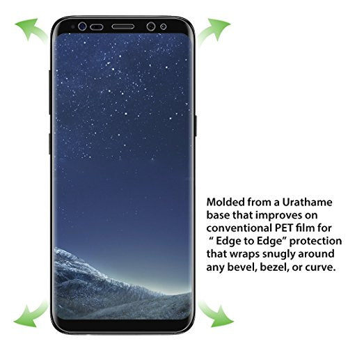 DeFitch Screen Protector for Samsung Galaxy S8 Ultra-Clear 2 Piece