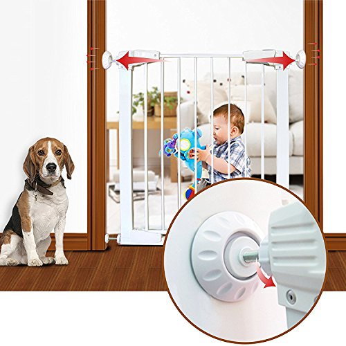 CalMyotis Baby Gate Wall Protector, Wall Cups For Baby Safety Gates, Make Child