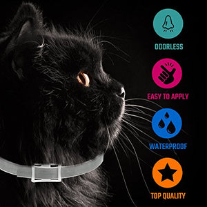 Flea Collar For Cats - Made in Germany - Tick Collar - All Natural Flea & Tick -