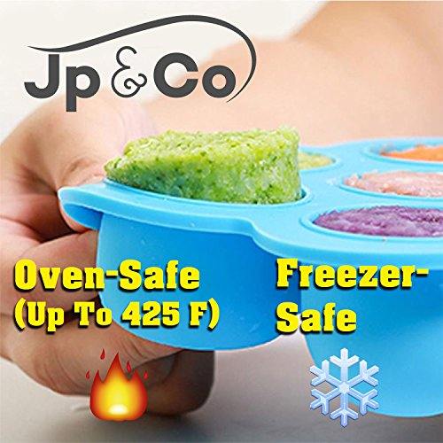 JP&Co. Silicone Egg Bites Molds for Instant Pot Accessories - Fits Instant Pot