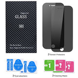 Amoner iPhone 8 Plus/ 7 Plus Anti-Spy Screen Protector, [2 Pack, Black] Privacy