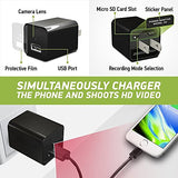Spy Camera Charger Hidden Adapter Mini 1080p USB Charger Hidden Cam Home Securit