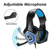 Gaming Headset with Mic for Xbox One PS4 PC Nintendo Switch Tablet Smartphone, 7