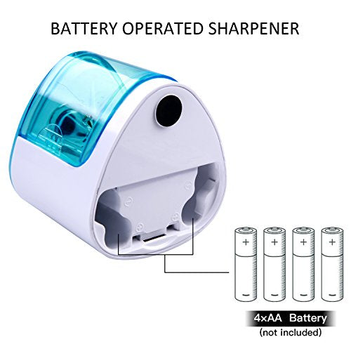 Electric Pencil Sharpener,Heavy duty Blades Durable and Portable Pencil with All