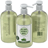 Calily Life Organic Aloe Vera Gel for Skin Soothes & Moisturizes For Dry Skin