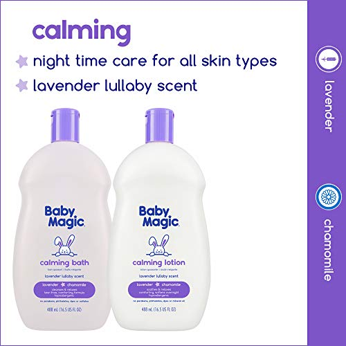 Baby Magic Calming Bath by Lavender Lulloby Scent, 16.5 Oz