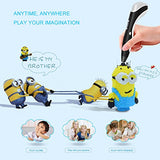 Kimitech 3D Pen Child Safe 3D Doodle Printing Pen with High Low Temp Modes LCD