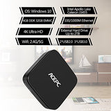 MINI PC,ACEPC AK1 Slice Mini Desktop Computer Windows 10 64-bit Built-in Intel
