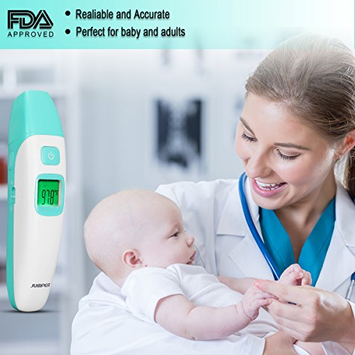 Forehead and Ear Thermometer, Infrared Medical Digital Thermometer with Fever CE