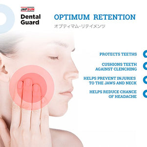 Japanese Line Dental Mouth Guard with Anti-Bacterial Case - Custom Moldable - of
