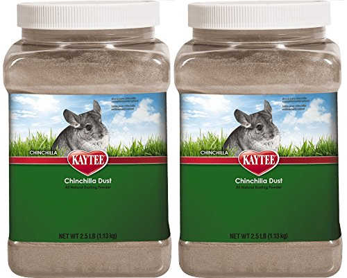 Kaytee Chinchilla Dust, 2 Pack of 2.5 Lbs