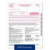 1099-MISC Income Set 4-Part, And 1096, Self Seal Envelops, Kit For 25 Vendors 2017
