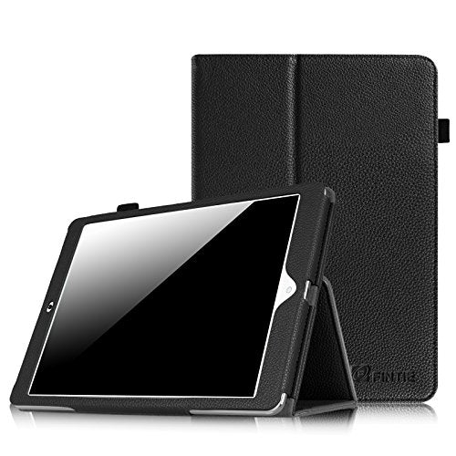 Dragon Touch E97 Folio Case - Fintie Premium Vegan Leather Cover with Stylus for