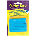 "Amscan Sticky Tack Party Decoration Adhesive, Blue, 6"" X 3.8"""