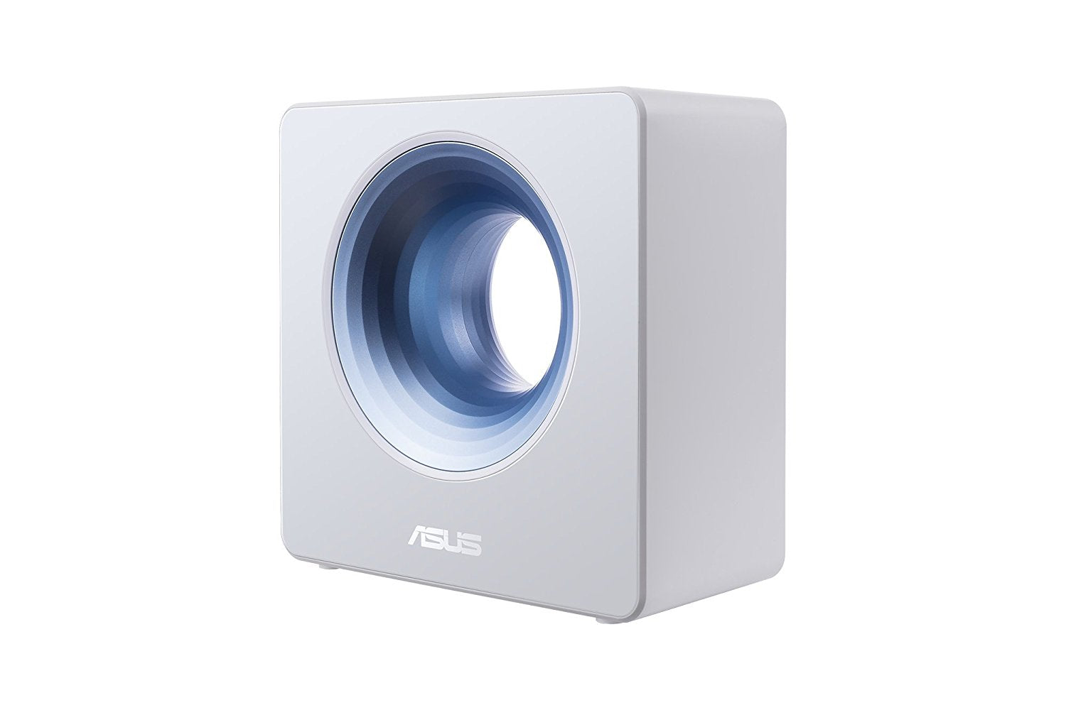 ASUS Blue Cave AC2600 Dual-Band Wireless Router for Smart Homes, featuring Intel