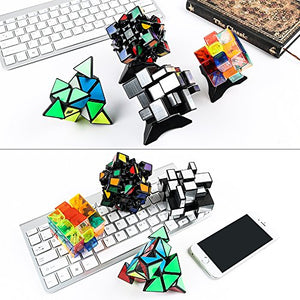 4 New Different Popular 3x3 Magic Cube with Good Gift Pack,Good Brain Training D
