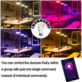 Smart Led Bulb, Compatible with Amazon Alexa and Google Assistant, Cellphone 7W