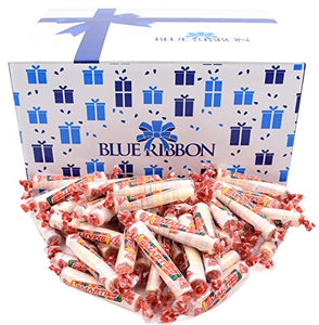 8 Lbs Smarties Candy Rolls, Individually Wrapped in Bulk by Blue Ribbon