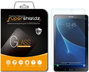 [2-Pack] Supershieldz for Samsung Galaxy Tab A 10.1 Screen Protector, [Tempered Glass] Anti-Scratch, Anti-Fingerprint, Bubble Free, Lifetime Replacement Warranty (SM-T580/T587)