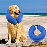 ONSON Protective Inflatable Dog Collar, Soft Pet Recovery E-Collar Cone for to