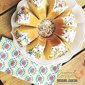 7 Inch Non-stick Springform Bundt Pan 2-In-1 for Use With 6QT or 8QT Electric