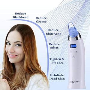 Blackhead Remover,Vacuum Blackhead Suction USB Rechargeable Extractor Tool with