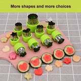 Vegetable cutter shapes Set,mini pie,fruit and Cookie Stamps Mold,cookie cutter