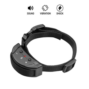Petiner Bark Collar Shock Dog Collar No Bark Electric Safe Anti-Barking Collar,