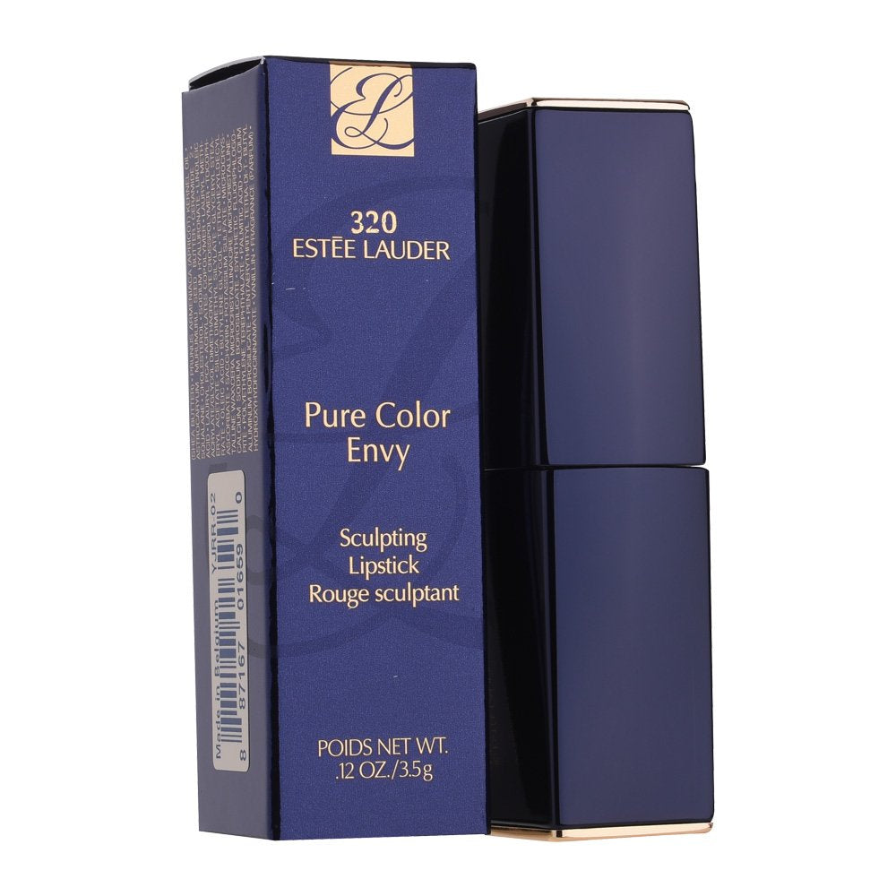 Estee Lauder Pure Color Envy Sculpting Lipstick, No. 320 Defiant Coral, 0.12 Ounce