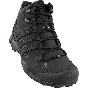 adidas outdoor Terrex Swift R Mid Hiking Boot - Mens Black/Black/Dark Grey, 10.0