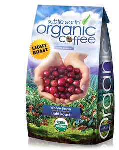 5LB Cafe Don Pablo Subtle Earth Organic Gourmet Coffee - Light Roast - Whole - -