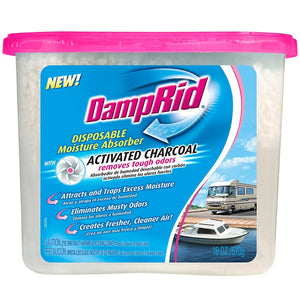DampRid FG118RV Moisture Absorber, Charcoal RV, 18-Ounce 3