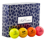 Ball Couture Fashionable Golf Balls for Women Variety Pack, 1 Dozen
