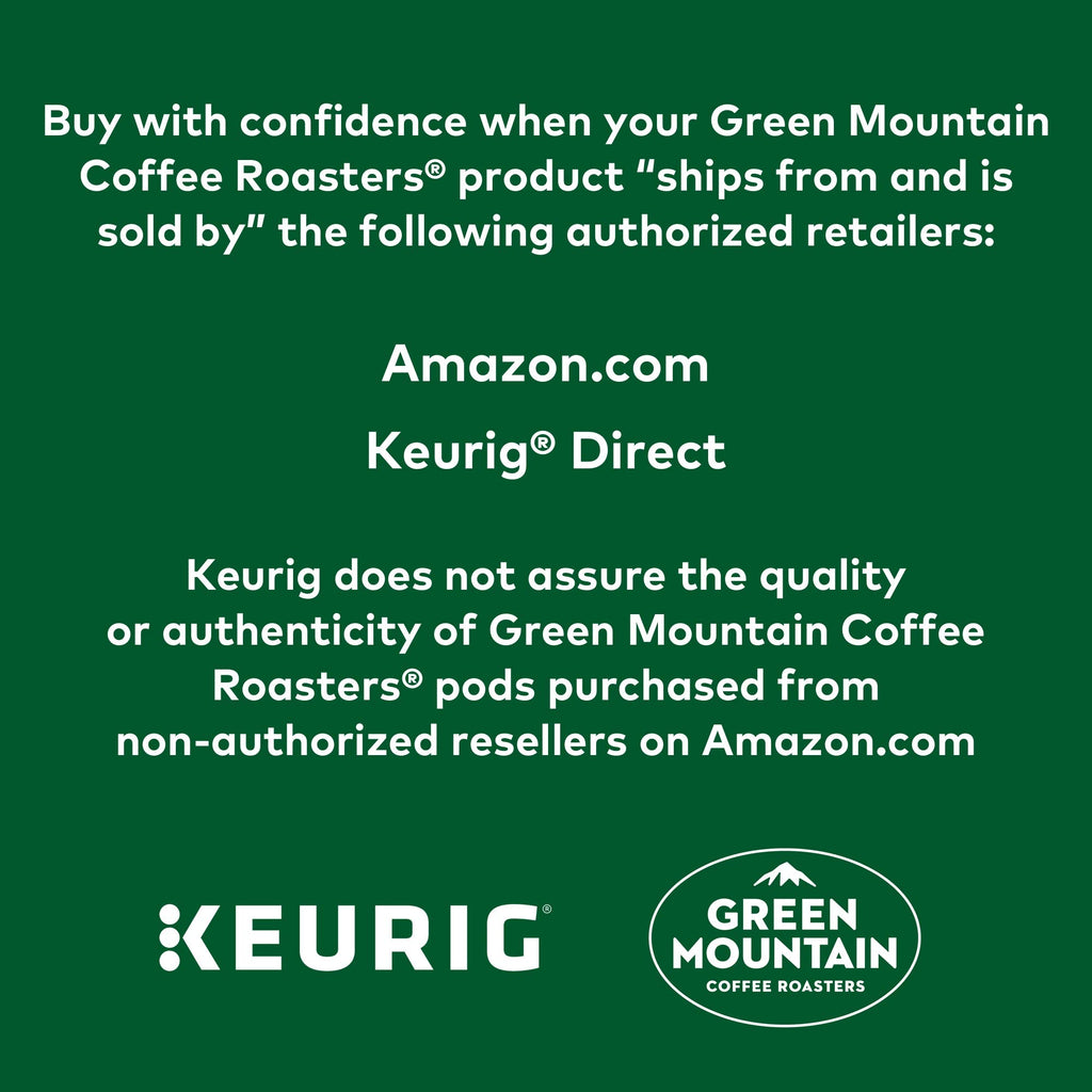 Green Mountain Coffee Roasters Colombia Select Keurig Single-Serve K-Cup Pods, Medium Roast Coffee, 72 Count