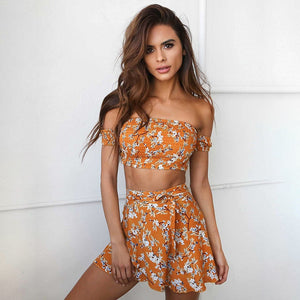 Over it in Orange Set