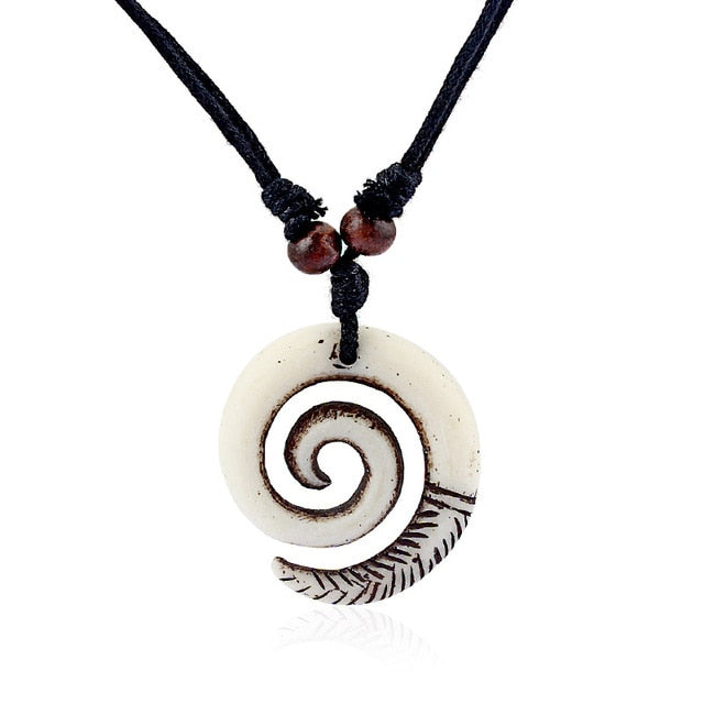 Tribal Swirl Necklace