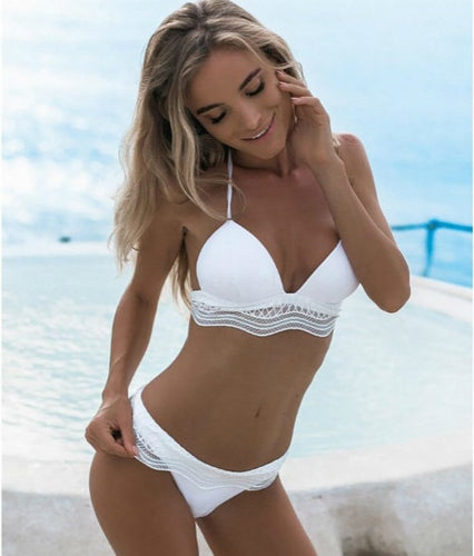 Frill Me Up Bikini Set (High & Low Waist Available)
