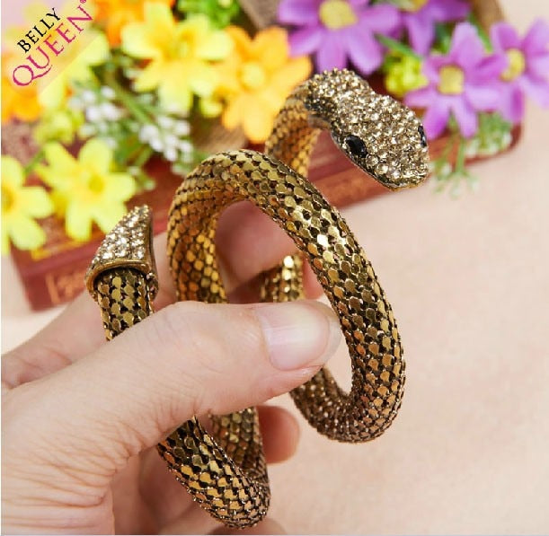 Wrapped Around You,  Snake Bracelet