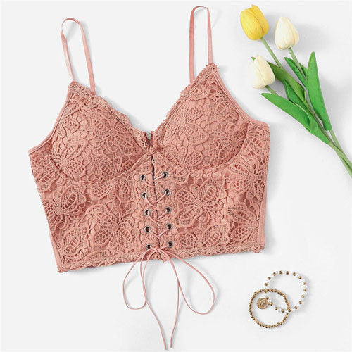 Pink Princess Crop