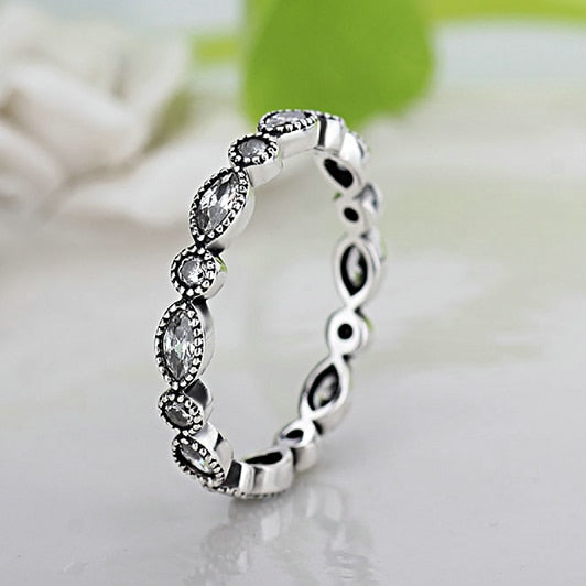 Sparkling Stacker Ring 2
